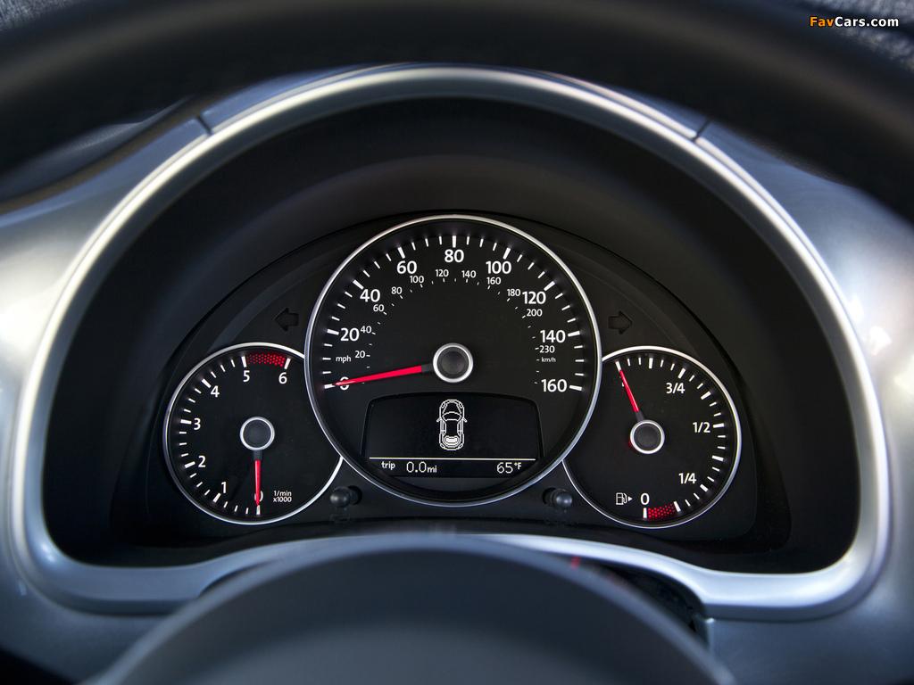 Images of Volkswagen Beetle TDi US-spec 2012 (1024 x 768)