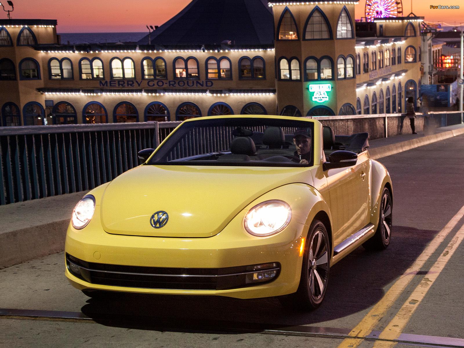 Images of Volkswagen Beetle Convertible 2012 (1600 x 1200)