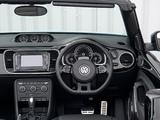 Images of Volkswagen Beetle Cabrio UK-spec 2013