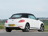 Images of Volkswagen Beetle Cabrio 60s Edition UK-spec 2013
