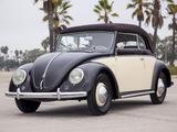 Photos of Volkswagen Käfer Karmann Cabriolet (Typ 15) 1949–53