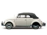 Photos of Volkswagen Beetle Convertible US-spec 1959