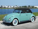 Photos of Volkswagen Beetle Convertible (Type 1) 1962–68