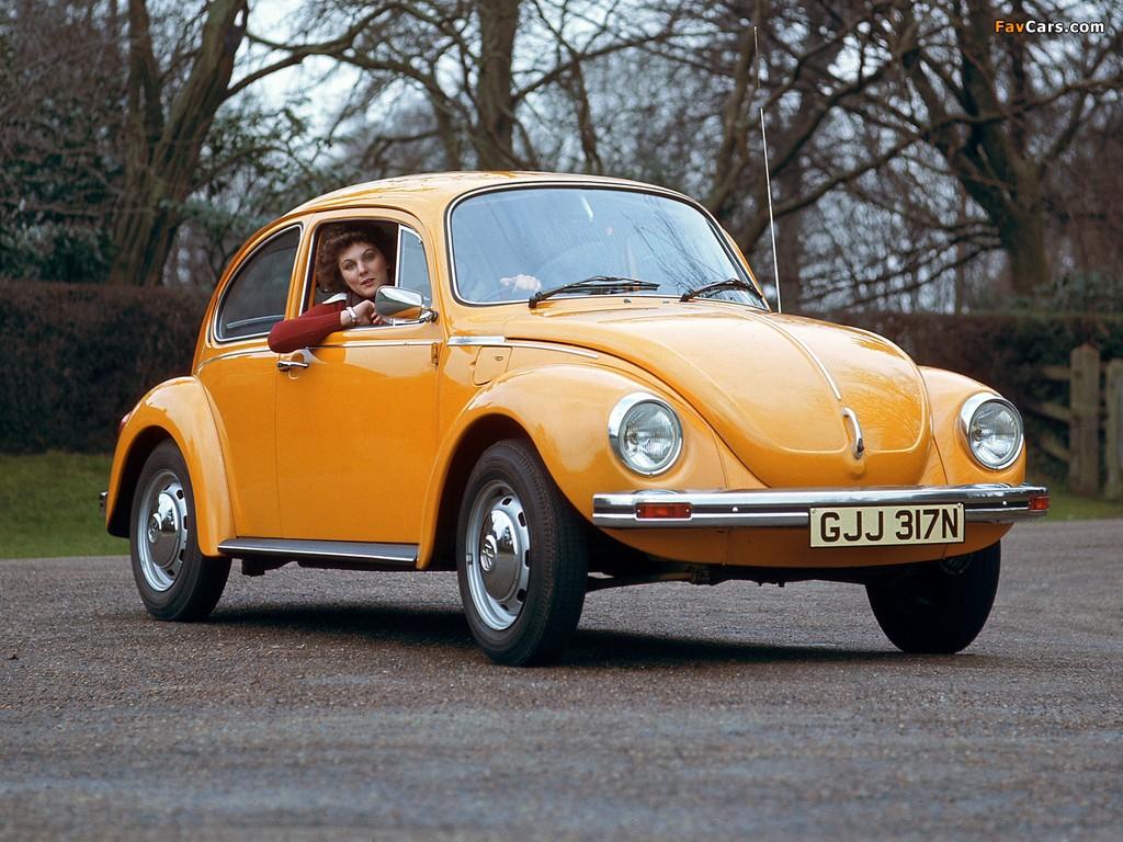Photos of Volkswagen Beetle UK-spec 1970 (1024 x 768)