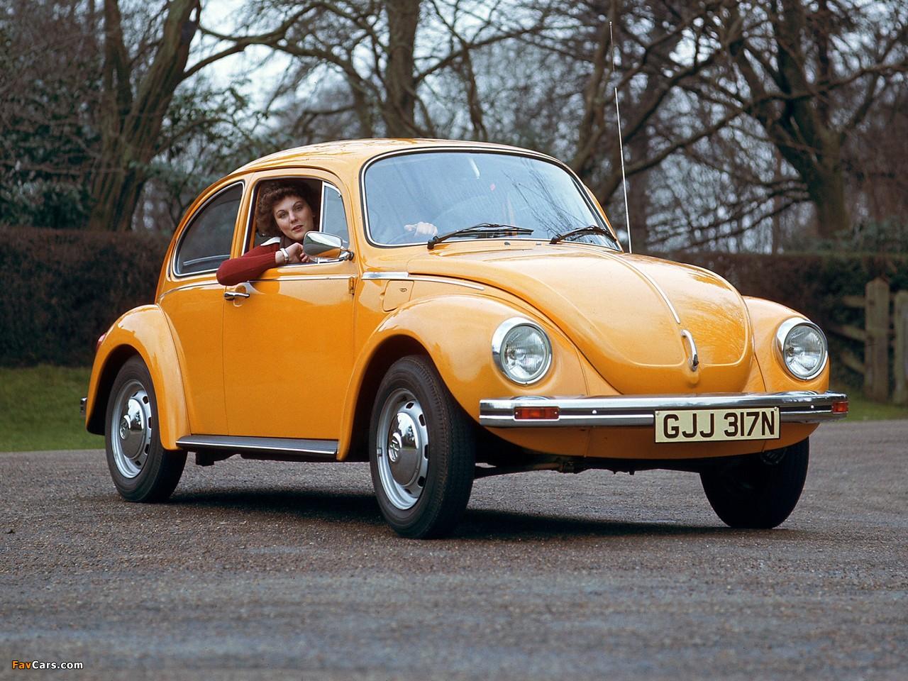 Photos of Volkswagen Beetle UK-spec 1970 (1280 x 960)