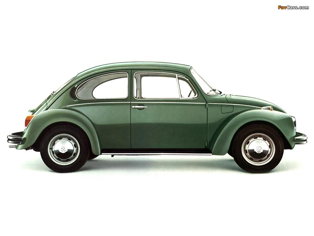 Photos of Volkswagen Käfer 1972 (1024 x 768)
