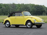 Photos of Volkswagen Beetle Convertible (Type 1) 1977