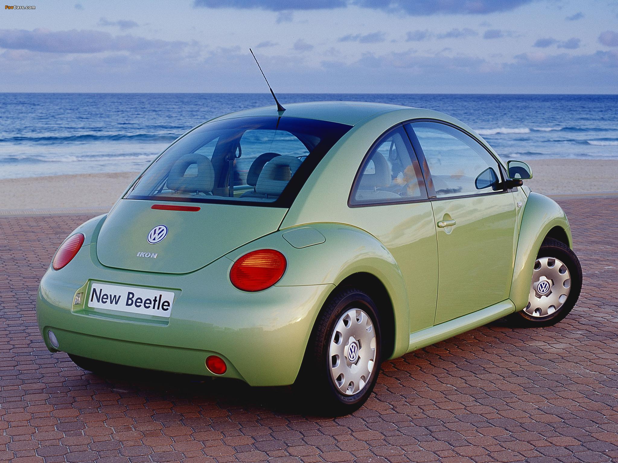 Photos of Volkswagen New Beetle AU-spec 1998–2005 (2048 x 1536)
