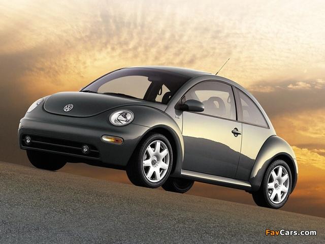 Photos of Volkswagen New Beetle US-spec 1998–2005 (640 x 480)
