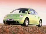 Photos of Volkswagen New Beetle UK-spec 1998–2005