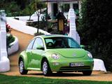 Photos of Volkswagen New Beetle 1998–2005