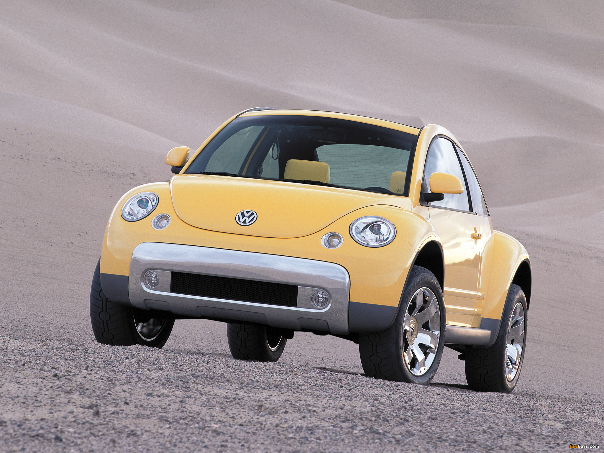 Photos of Volkswagen New Beetle Dune Concept 2000 (2048 x 1536)
