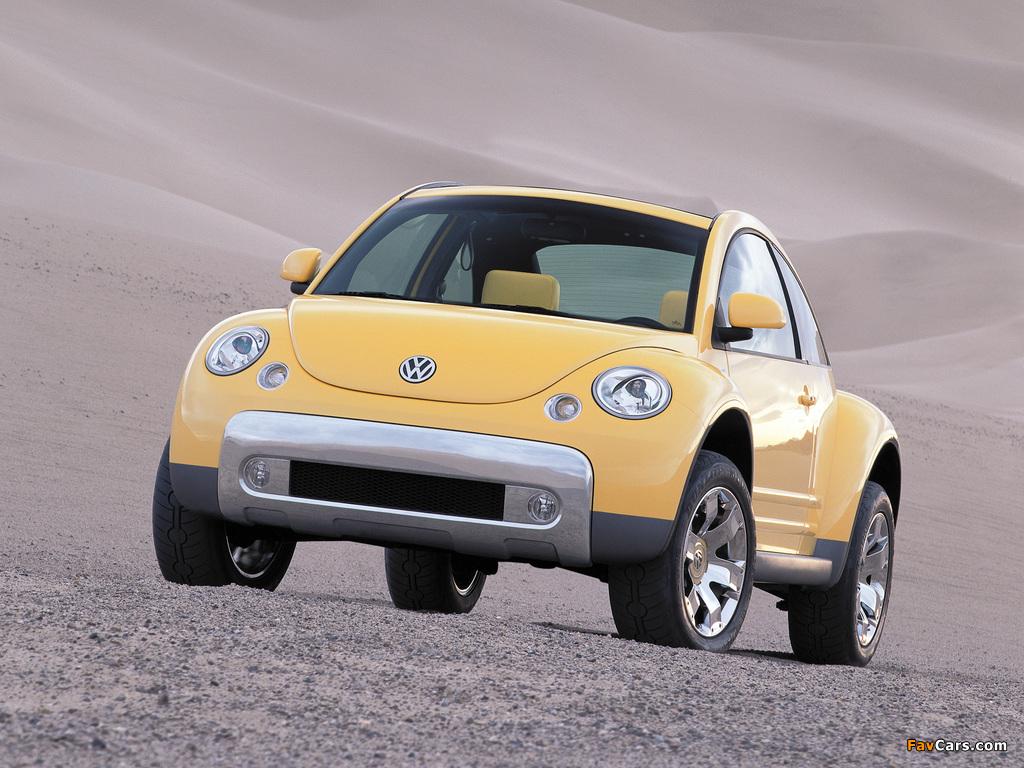 Photos of Volkswagen New Beetle Dune Concept 2000 (1024 x 768)