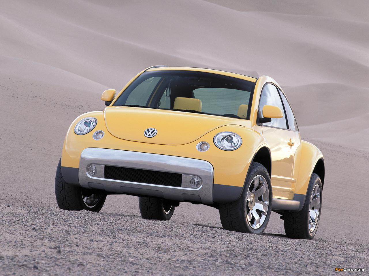 Photos of Volkswagen New Beetle Dune Concept 2000 (1280 x 960)
