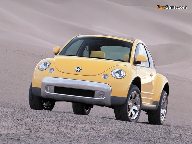 Photos of Volkswagen New Beetle Dune Concept 2000 (640 x 480)