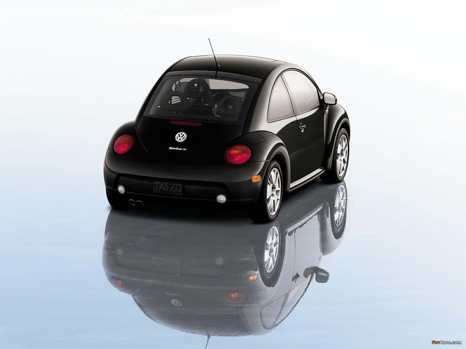 Photos of Volkswagen New Beetle Turbo S 2002 (1600 x 1200)