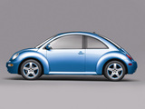 Photos of Volkswagen New Beetle Satellite Blue 2004