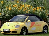 Photos of Volkswagen New Beetle Cabrio SunFuel Concept 2006