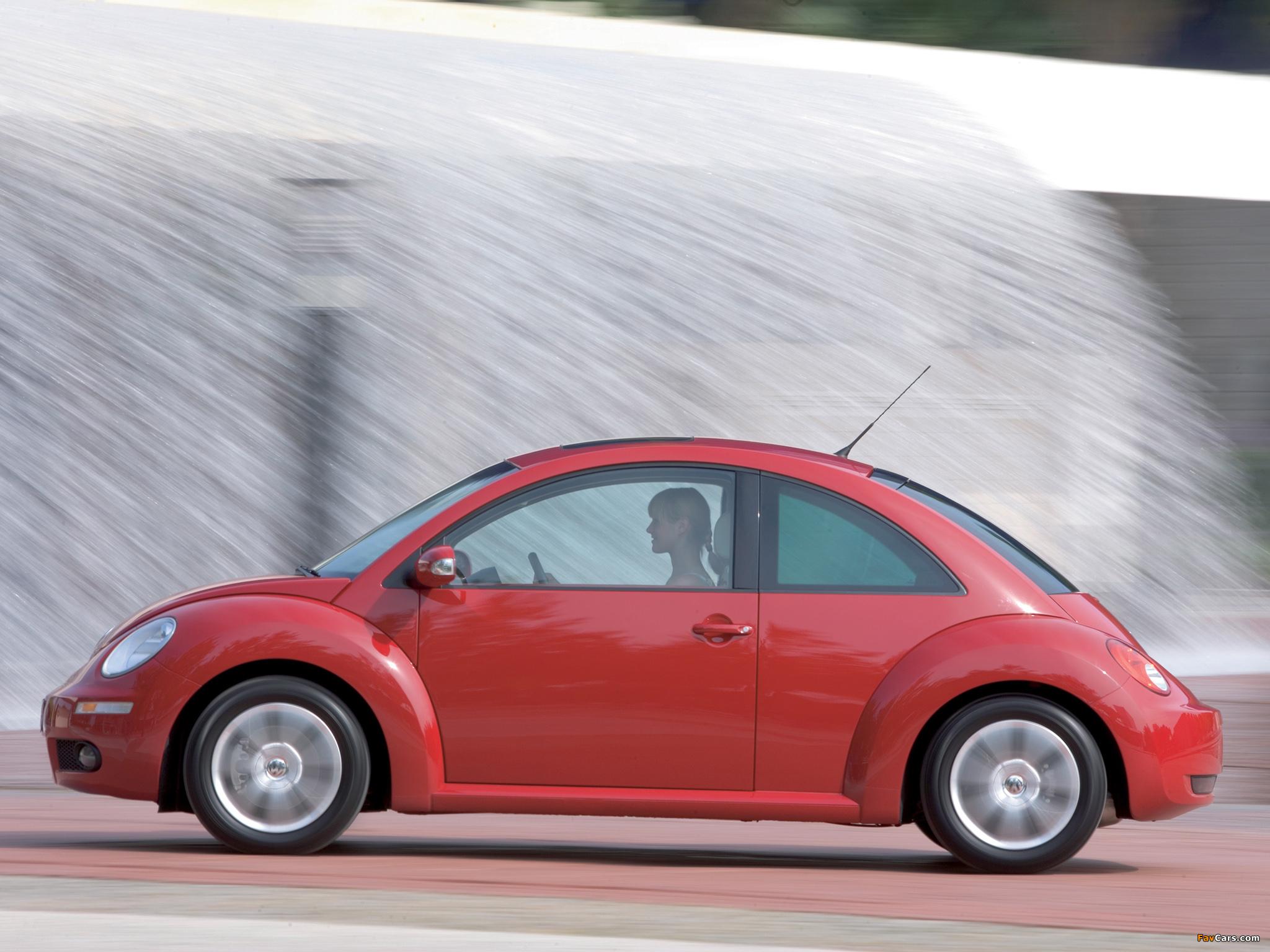 Photos of Volkswagen New Beetle 2006–10 (2048 x 1536)