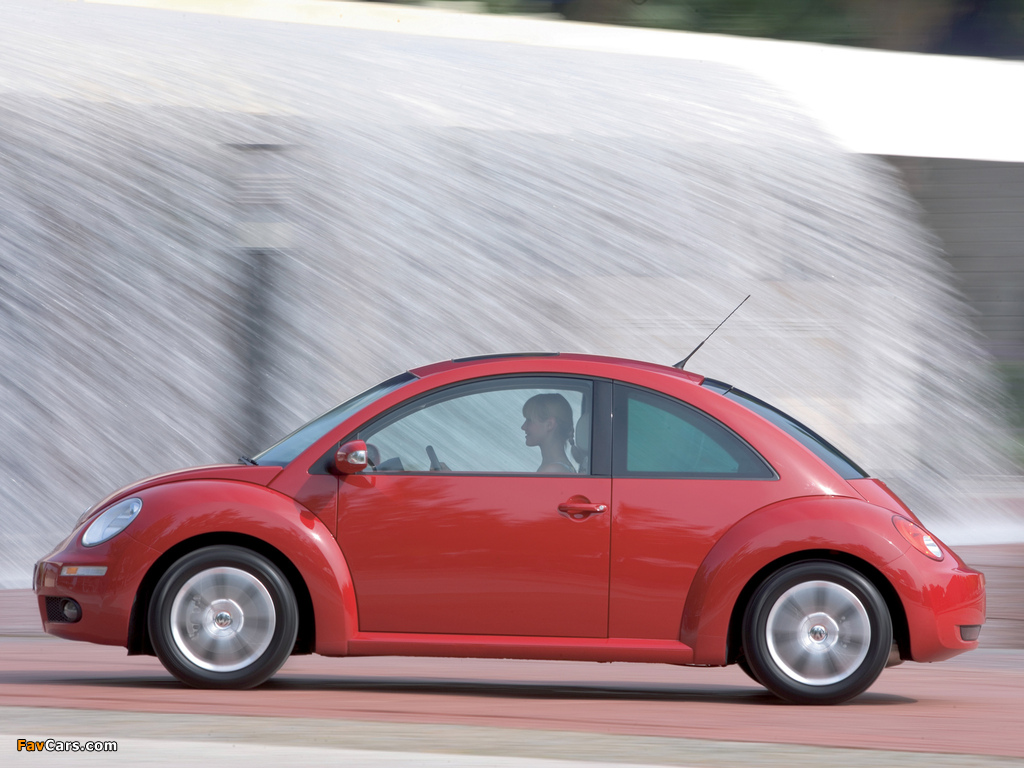 Photos of Volkswagen New Beetle 2006–10 (1024 x 768)
