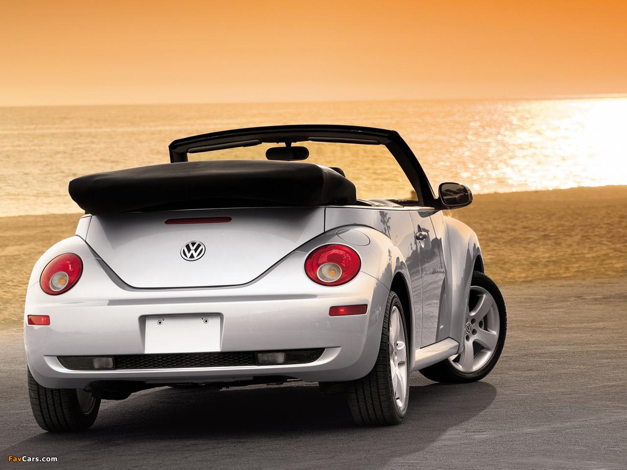 Photos of Volkswagen New Beetle Convertible 2006–10 (1280 x 960)