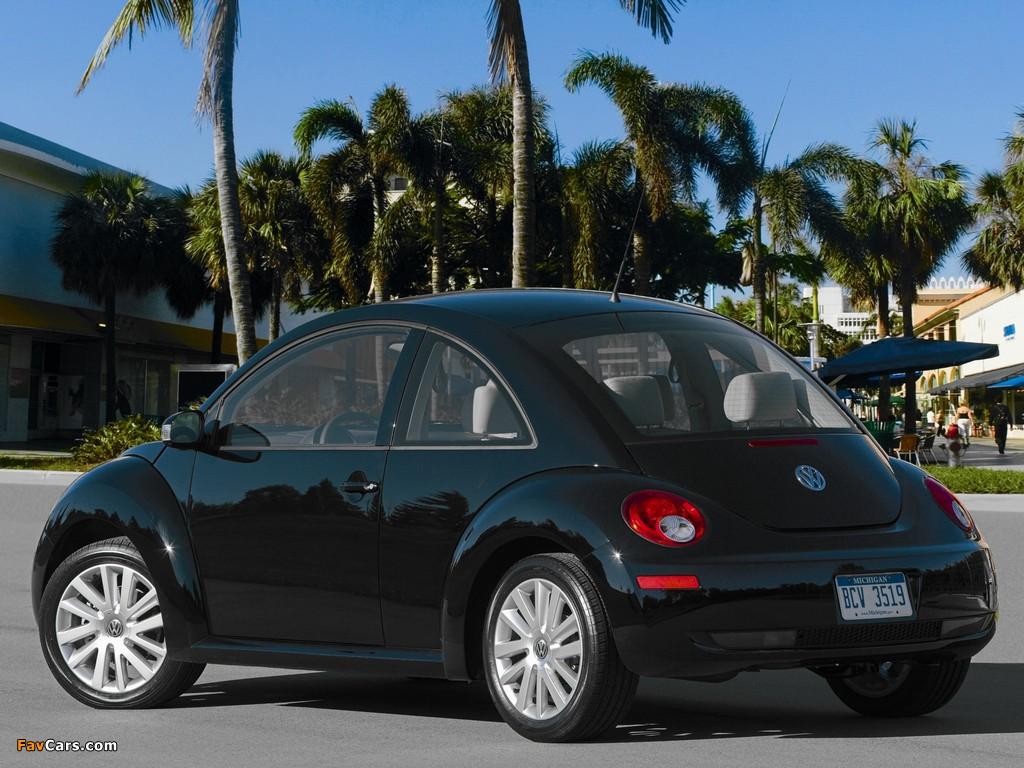 Photos of Volkswagen New Beetle US-spec 2006–10 (1024 x 768)