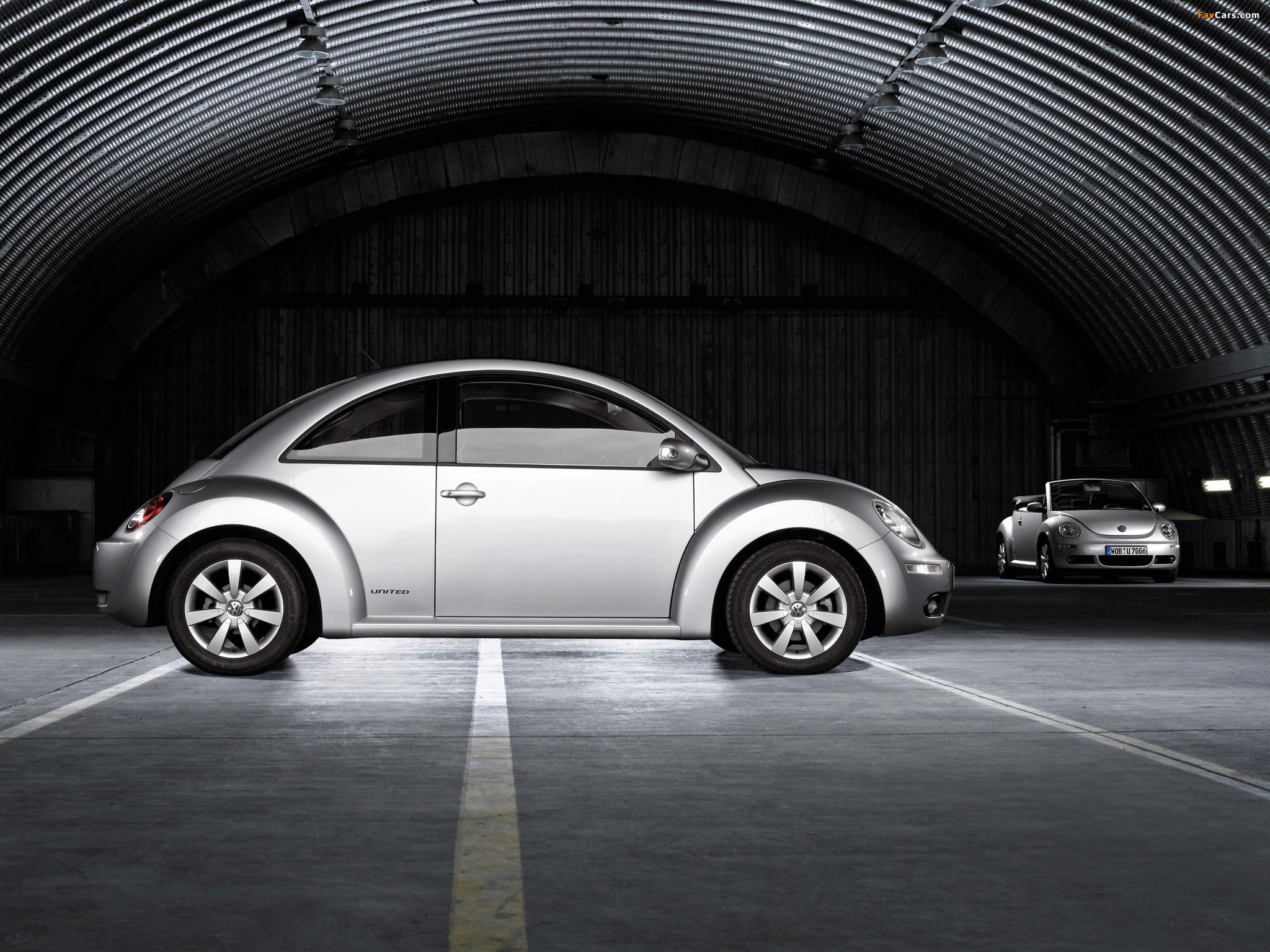 Photos of Volkswagen New Beetle United 2007 (2048 x 1536)