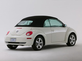 Photos of Volkswagen New Beetle Convertible Triple White 2007