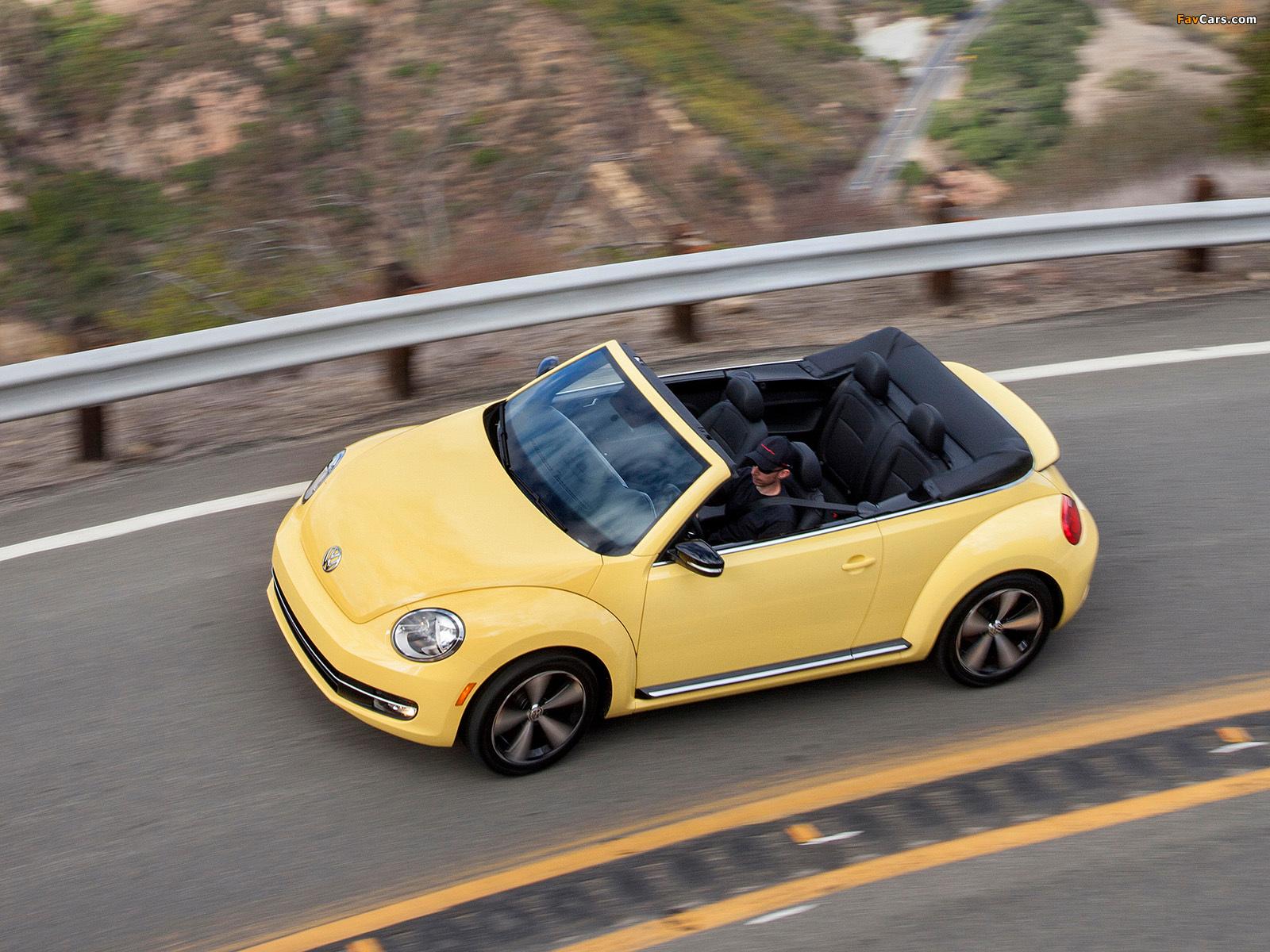 Photos of Volkswagen Beetle Convertible 2012 (1600 x 1200)