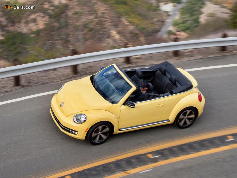 Photos of Volkswagen Beetle Convertible 2012 (800 x 600)