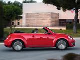 Photos of Volkswagen Beetle Cabrio 2012