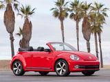 Photos of Volkswagen Beetle Convertible Turbo 2012