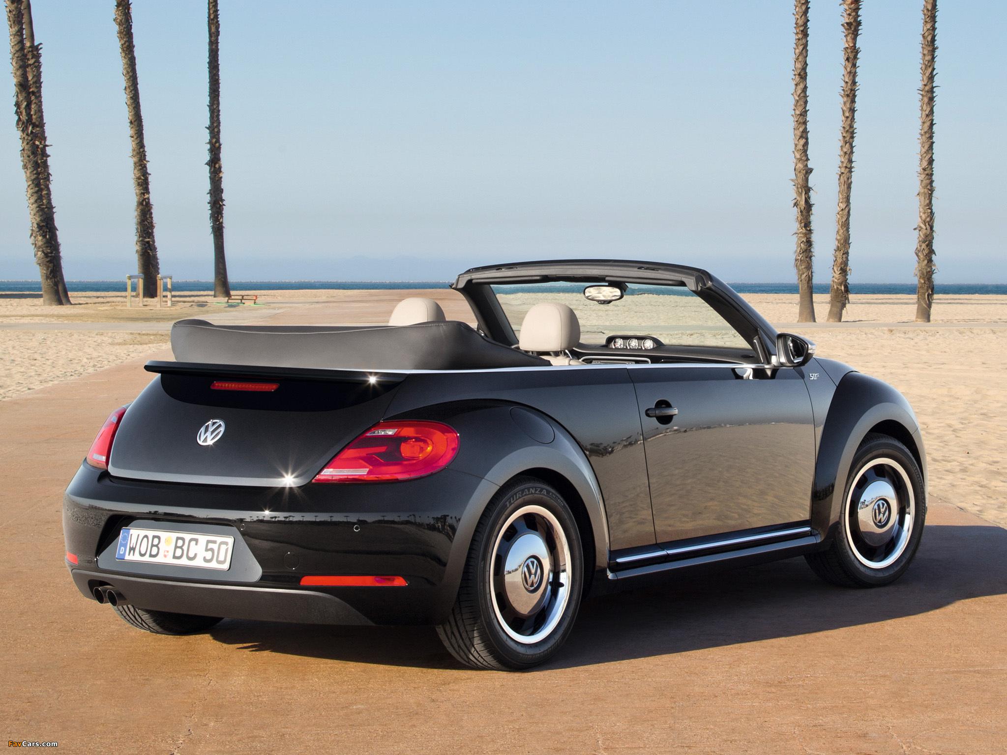 Photos of Volkswagen Beetle Cabrio 50s Edition 2012 (2048 x 1536)