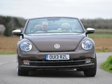 Photos of Volkswagen Beetle Cabrio 70s Edition UK-spec 2013