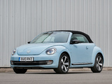 Photos of Volkswagen Beetle Cabrio UK-spec 2013