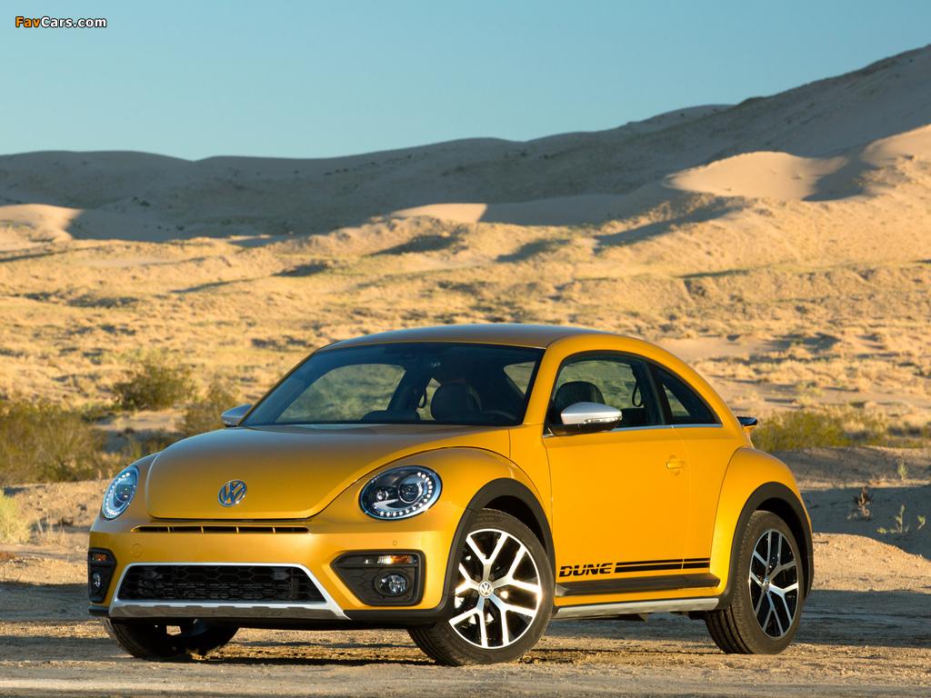 Photos of Volkswagen Beetle Dune 2016 (1024 x 768)