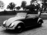 Pictures of Volkswagen Käfer Cabriolet 1939