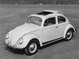 Pictures of Volkswagen Käfer 1953–57