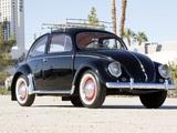 Pictures of Volkswagen Beetle North America 1954