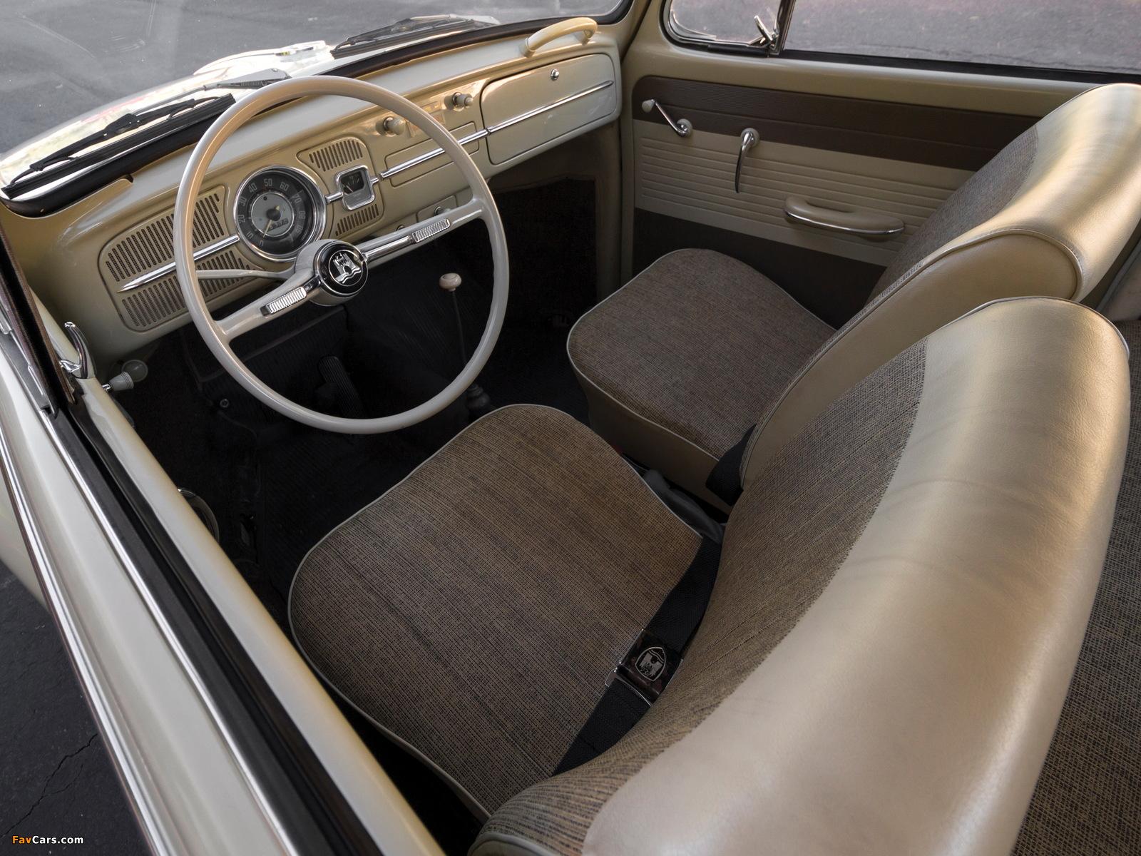 Pictures of Volkswagen Beetle North America 1965 (1600 x 1200)