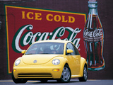 Pictures of Volkswagen New Beetle US-spec 1998–2005