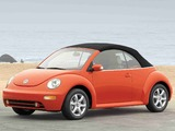 Pictures of Volkswagen New Beetle Convertible 2000–05