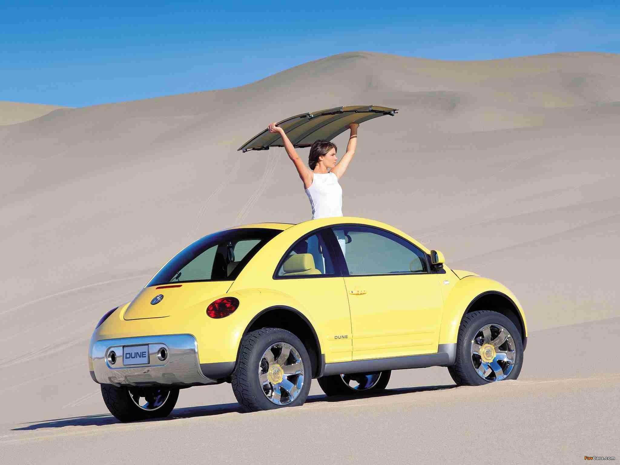 Pictures of Volkswagen New Beetle Dune Concept 2000 (2048 x 1536)