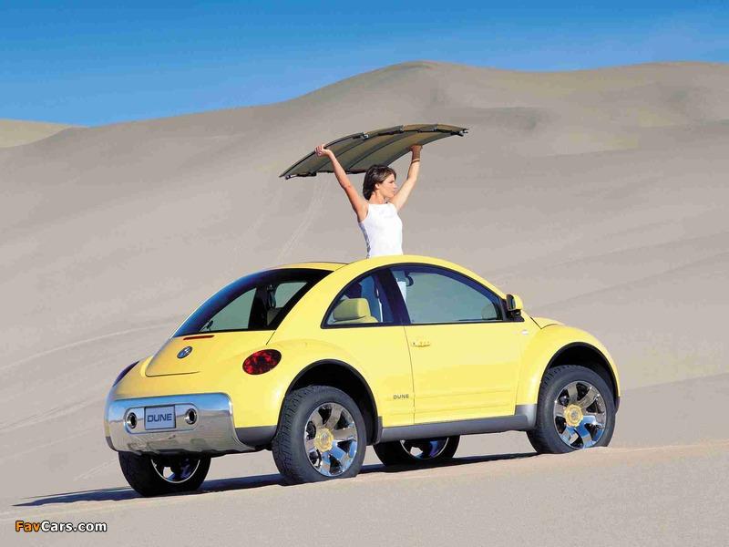 Pictures of Volkswagen New Beetle Dune Concept 2000 (800 x 600)