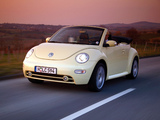 Pictures of Volkswagen New Beetle Cabrio 2000–05