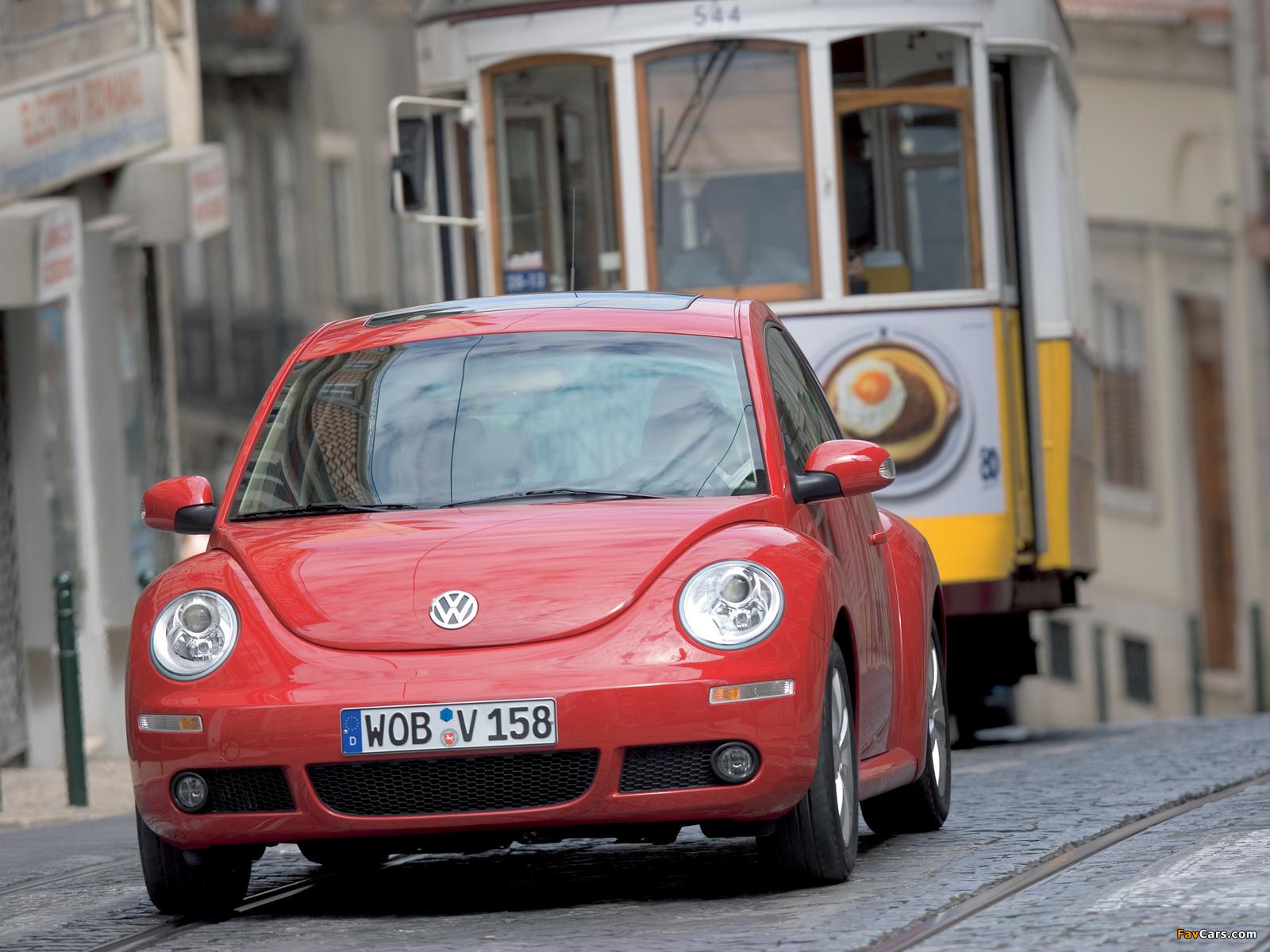 Pictures of Volkswagen New Beetle 2006–10 (1600 x 1200)