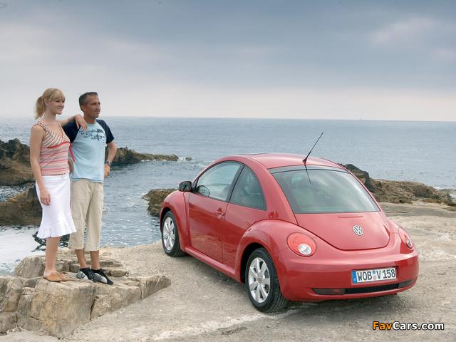 Pictures of Volkswagen New Beetle 2006–10 (640 x 480)