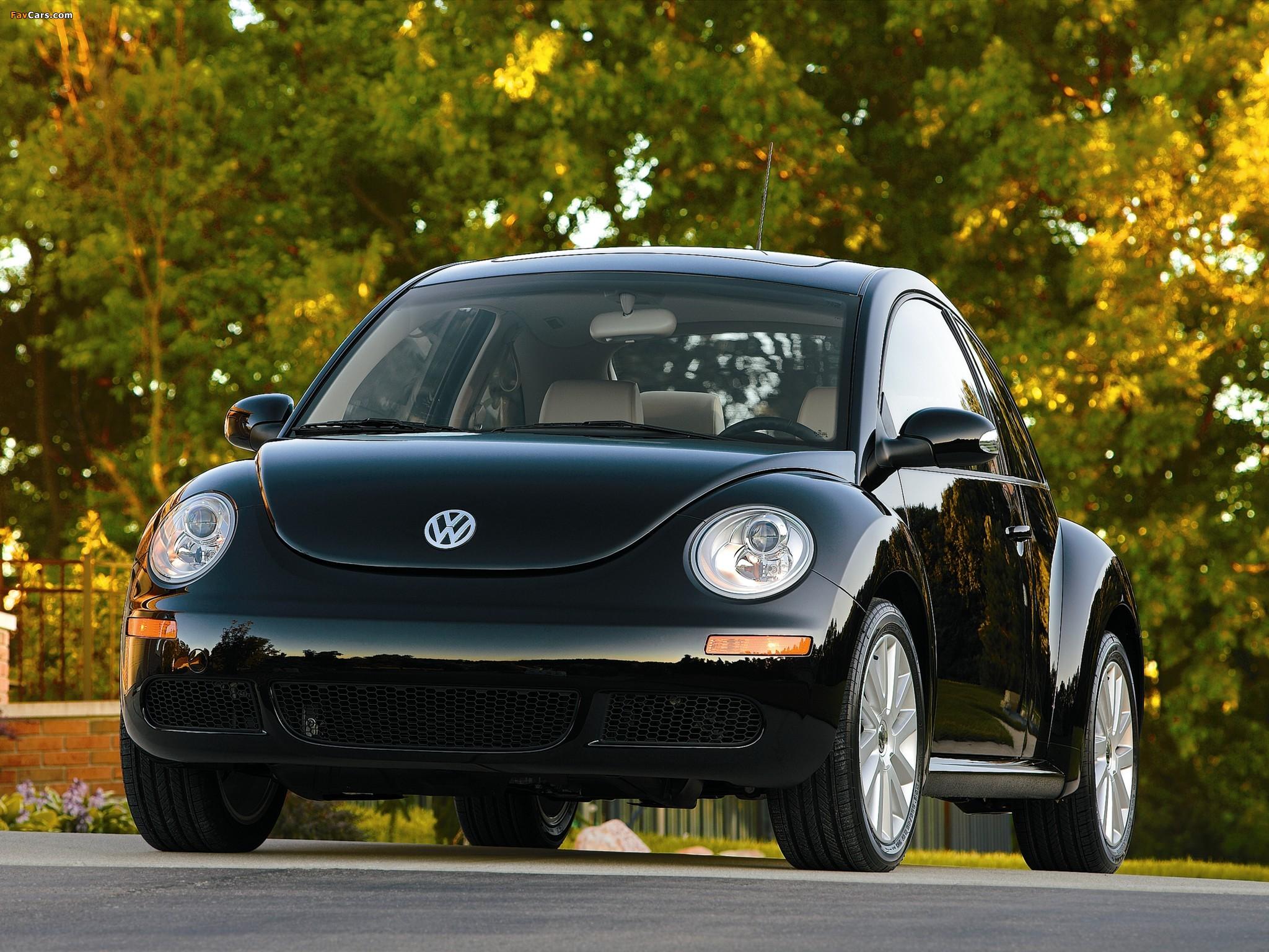 Pictures of Volkswagen New Beetle US-spec 2006–10 (2048 x 1536)