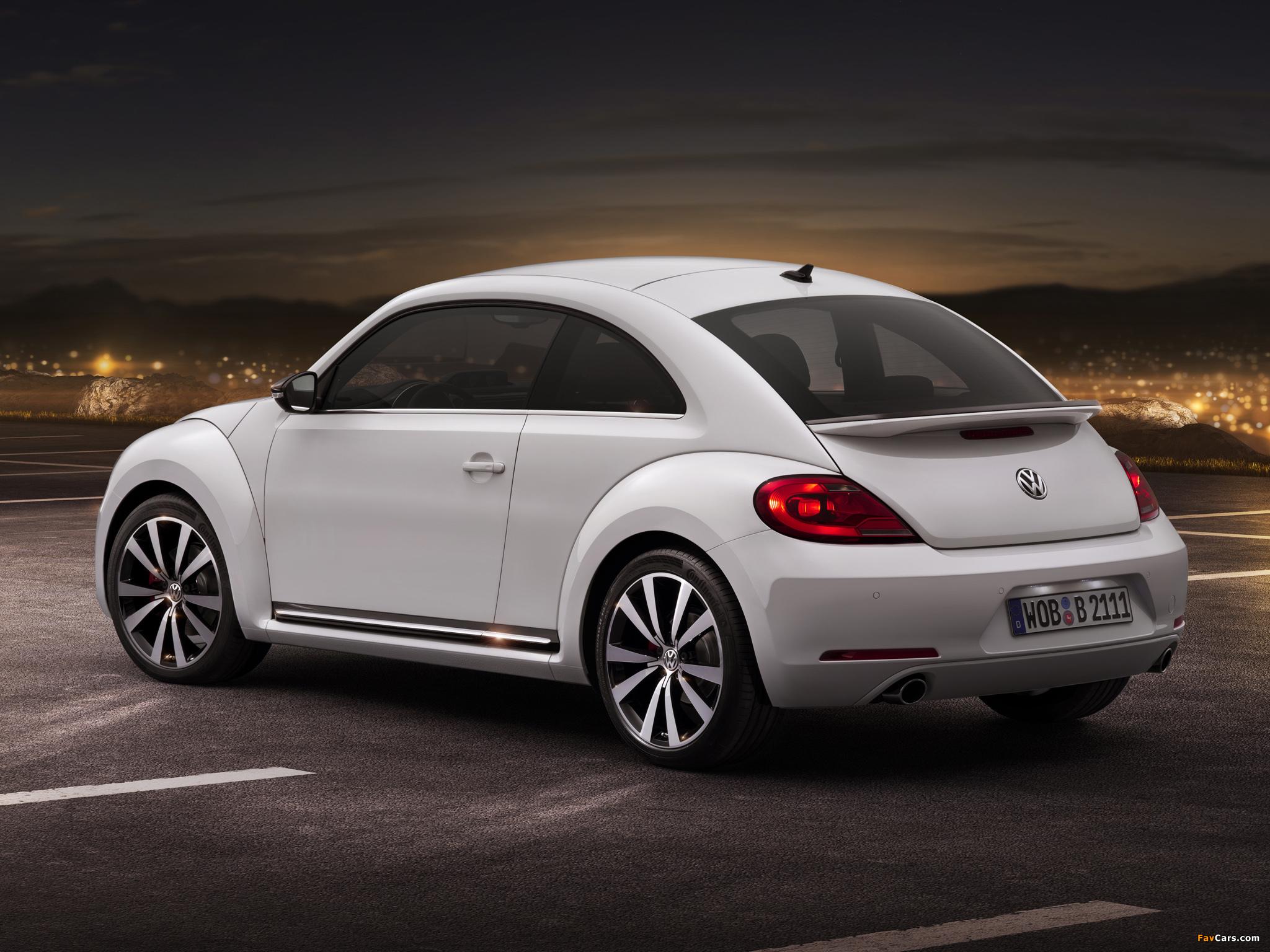 Pictures of Volkswagen Beetle Turbo 2011 (2048 x 1536)