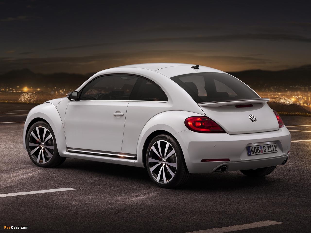 Pictures of Volkswagen Beetle Turbo 2011 (1280 x 960)